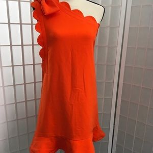 Victoria Beckham for Target orange dress sz XS